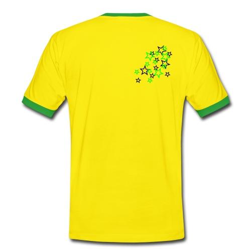 ESTRELLAS - Camiseta contraste hombre