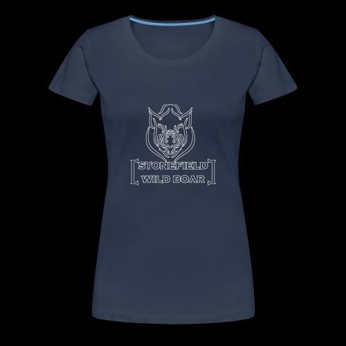 stonefield wild boar - Tshirt - Frauen Premium T-Shirt