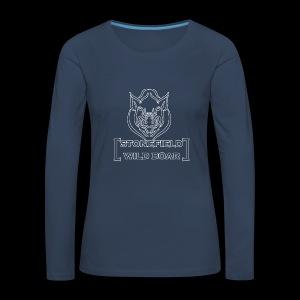 stonefield wild boar - Langarmshirt - Frauen Premium Langarmshirt