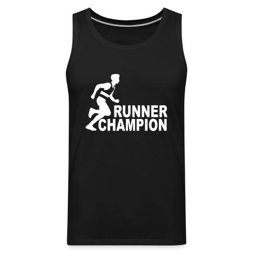 Runner Champion - Débardeur Premium Homme
