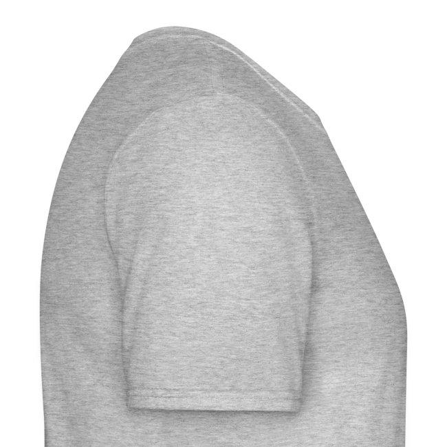 SUPER WANG! graues Herren-T-Shirt mit Bandfoto und Logo