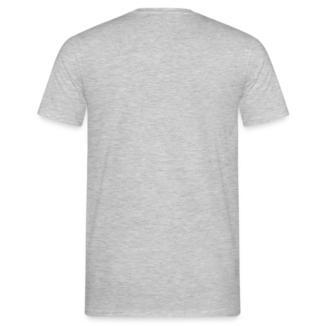 """SUPER WANG! graues T-Shirt für Männer, blaues Logo """"SW!"""""""