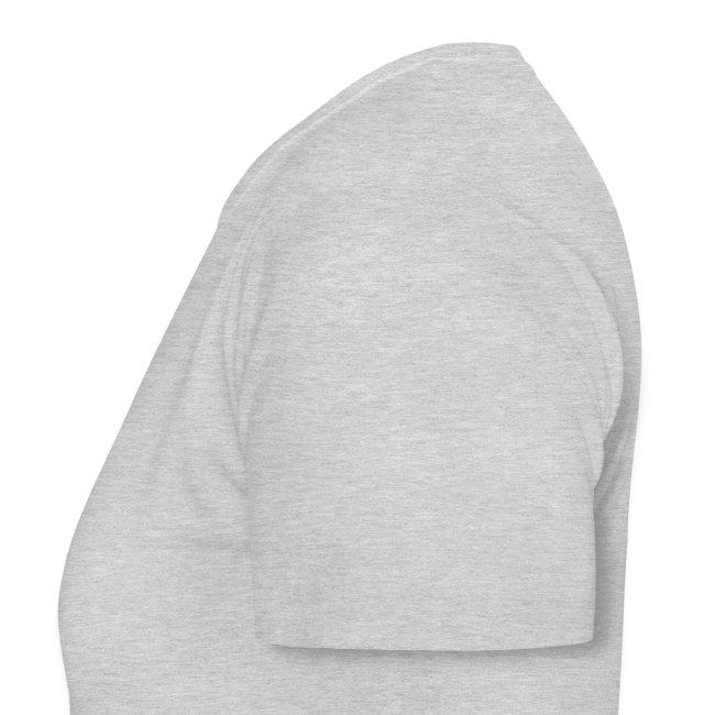 """SUPER WANG! graues T-Shirt für Frauen, blaues Logo """"SW!"""""""