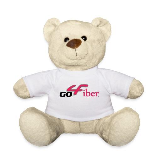 Teddy - leuke beer met go4fiber shirt