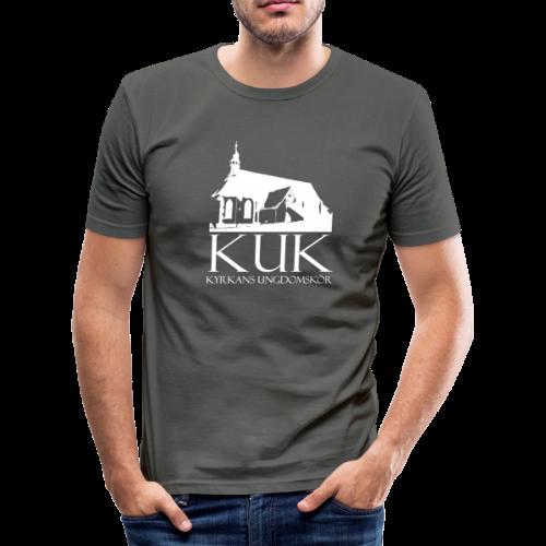 T-shirt Slim Fit, KUK - Kyrkans UngdomsKör - Slim Fit T-shirt herr