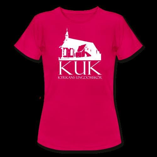 T-shirt dam, KUK - Kyrkans UngdomsKör - T-shirt dam