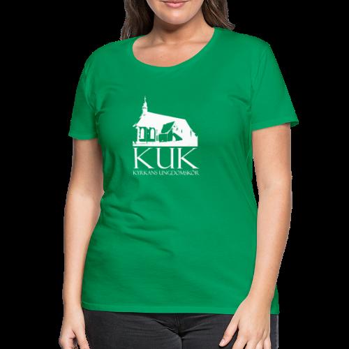 T-shirt dam Premium, KUK - Kyrkans UngdomsKör - Premium-T-shirt dam