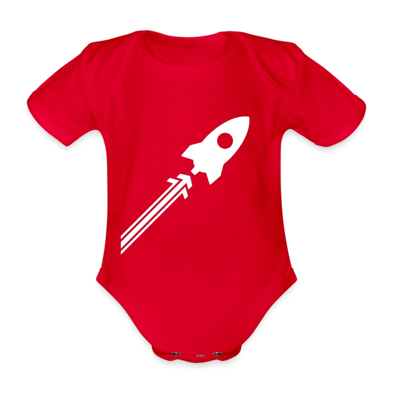 Rocket_Side - Baby Bio-Kurzarm-Body