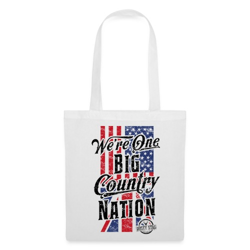Country Nation Tote Bag - Tote Bag