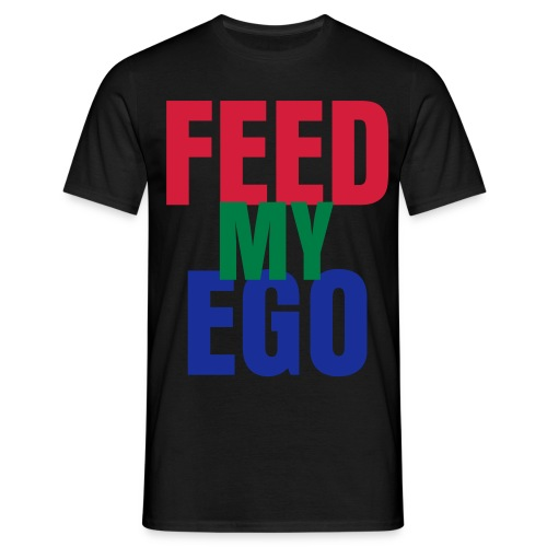 FEED MY EGO Jersey - Men's T-Shirt