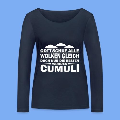 Segelflieger Spruch als Geschenk - Women's Organic Longsleeve Shirt by Stanley & Stella