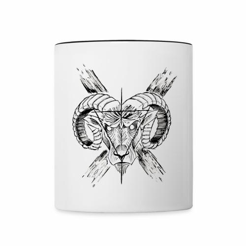 Cup Goat Devil's - Mug contrasté