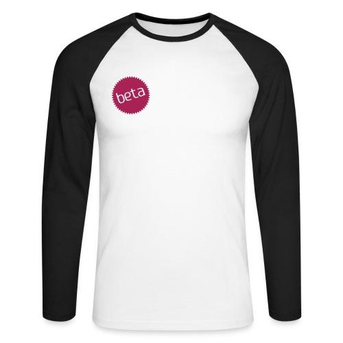 BETA T-shirt - Mannen baseballshirt lange mouw
