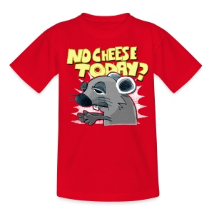 No cheese today? - Kids' T-Shirt
