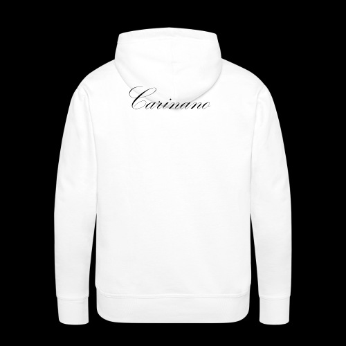 Carinano White Edition - Männer Premium Hoodie