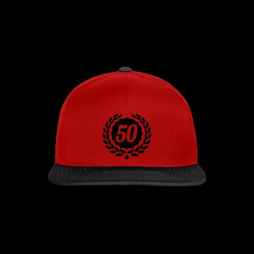 50 mit Ehrenkranz - Snapback Cap