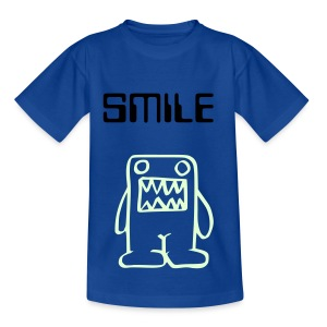Cute glow-in-the-dark monster kiddies top (you can change the colour of the top and text to suit your baby!) - Teenage T-shirt