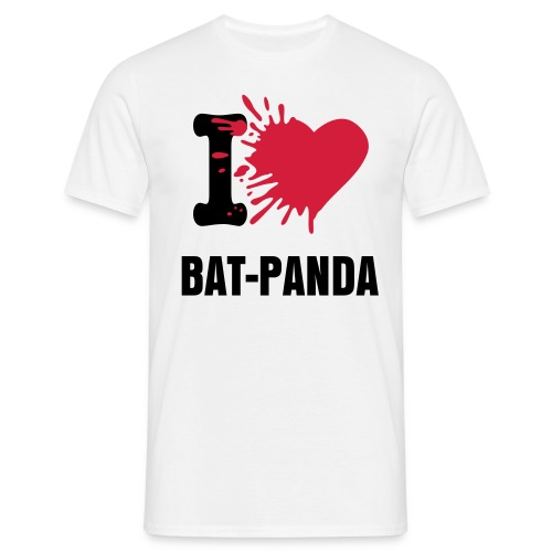 Win! - I Love Bat-Panda - Shirt - Men's T-Shirt