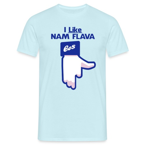 i Like NAM FLAVA - Men's T-Shirt