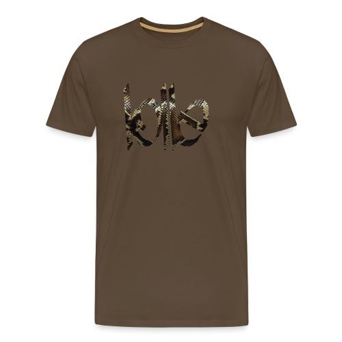 Lolle SNAKE - Männer Premium T-Shirt