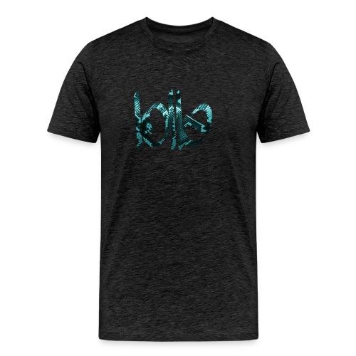 Lolle ICE SNAKE - Männer Premium T-Shirt