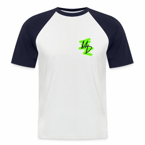 Camiseta béisbol logo MD original verde - Camiseta béisbol manga corta hombre