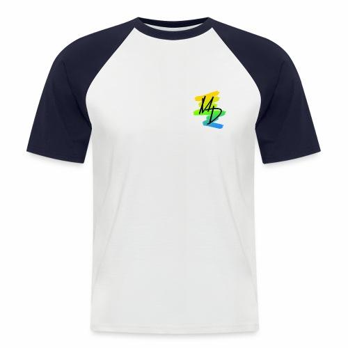 Camiseta béisbol logo MD original  - Camiseta béisbol manga corta hombre