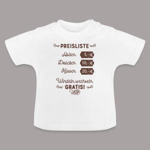 Preisliste - Baby T-Shirt