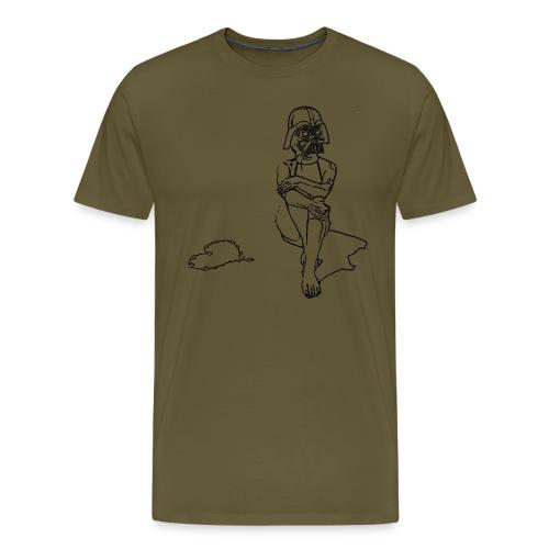 Bikini Vader T-Shirt, verschiedene Farben - Männer Premium T-Shirt