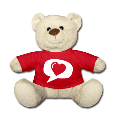 Red Red i love you heart balloon for red shirts Teddies Teddies
