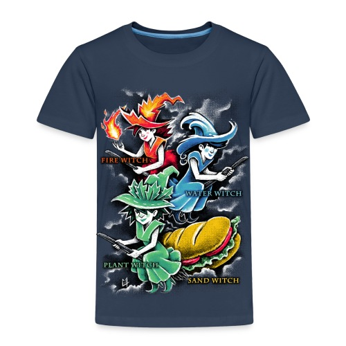Types of Witches - Kids' Premium T-Shirt