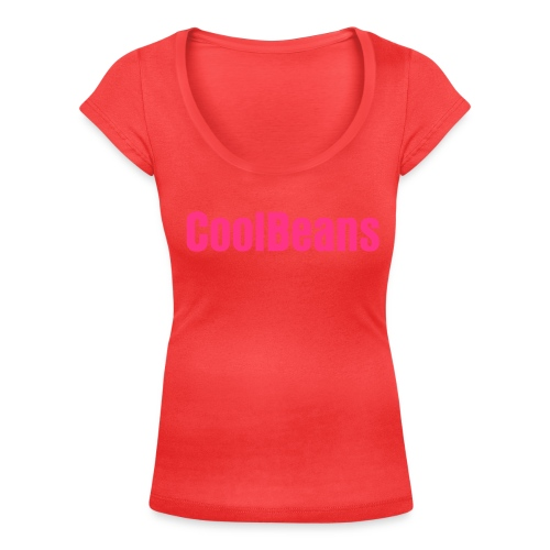 Coolbeans shirt - Women's Scoop Neck T-Shirt