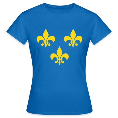 T-shirt femme fleur de lys - T-shirt Femme