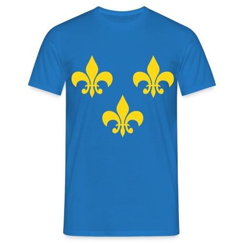 T-shirt homme fleur de lys - T-shirt Homme