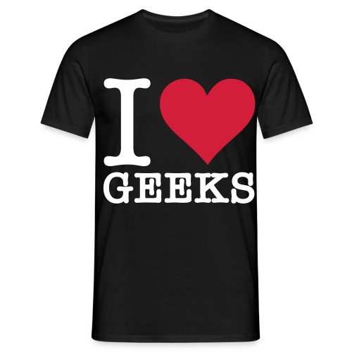 i love geek - T-shirt Homme