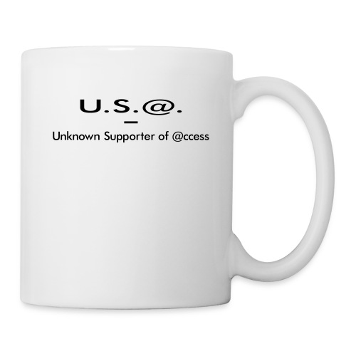 U.S.@ - Unknown Supporter of @ccess - Tasse