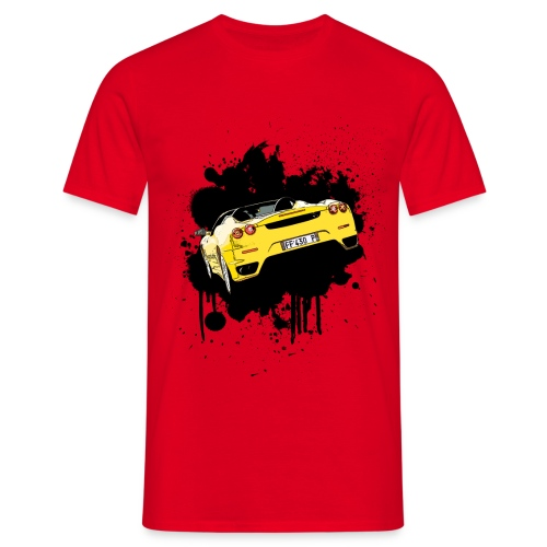 Car Splat - Men's T-Shirt