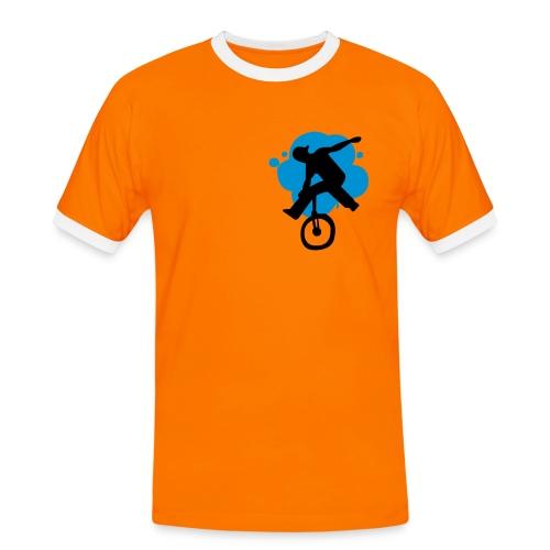 T-Shirt Homme Mono Flat - T-shirt contrasté Homme