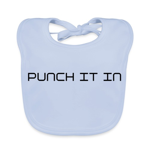 Unknown caller - punch it in - Baby Organic Bib
