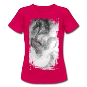 Traumpferd Rundhals Tshirt - Frauen T-Shirt