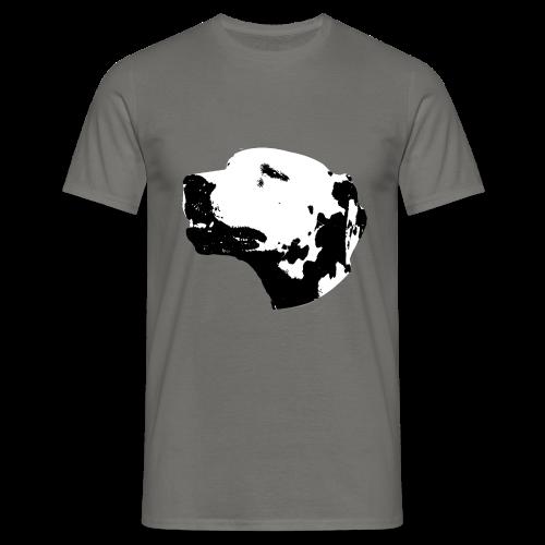Dalmatian Head Dog - T-shirt Homme