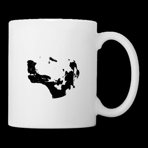 Dalmatian head dog - Mug blanc