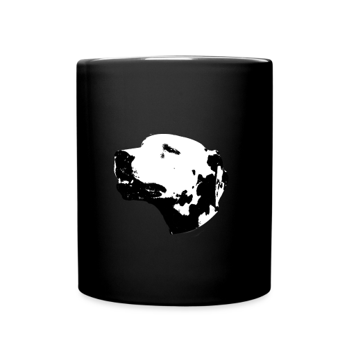 Dalmatian head dog - Mug uni