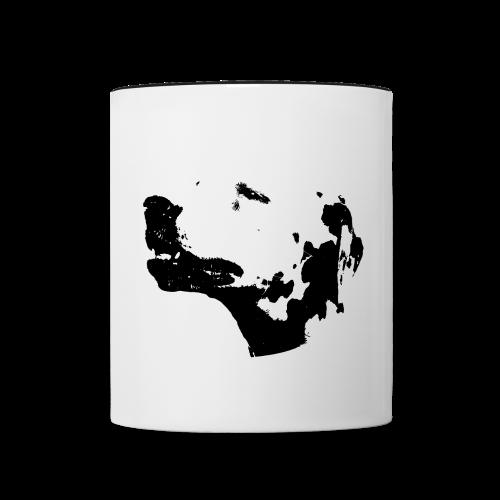 Dalmatian Head dog - Mug contrasté