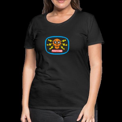 T-shirt dam Premium, TV-piraterna - Premium-T-shirt dam