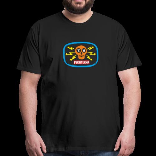 T-shirt Premium, TV-piraterna - Premium-T-shirt herr