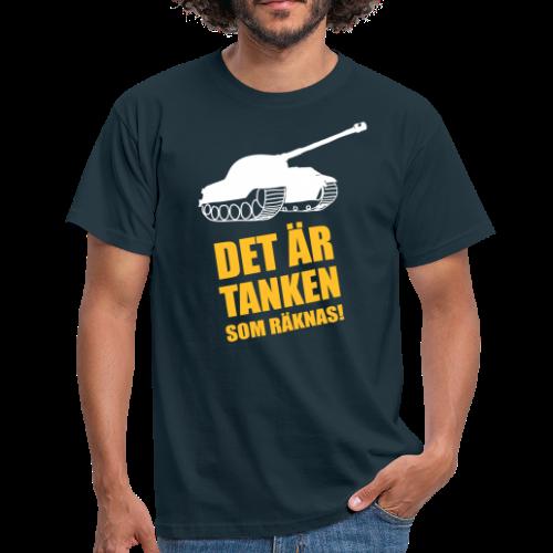 T-shirt, Det är Tanken som räknas - T-shirt herr