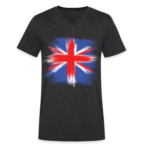UK - Männer Bio-T-Shirt mit V-Ausschnitt von Stanley & Stella