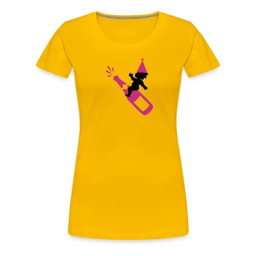 Cupido Sekt - Frauen Premium T-Shirt