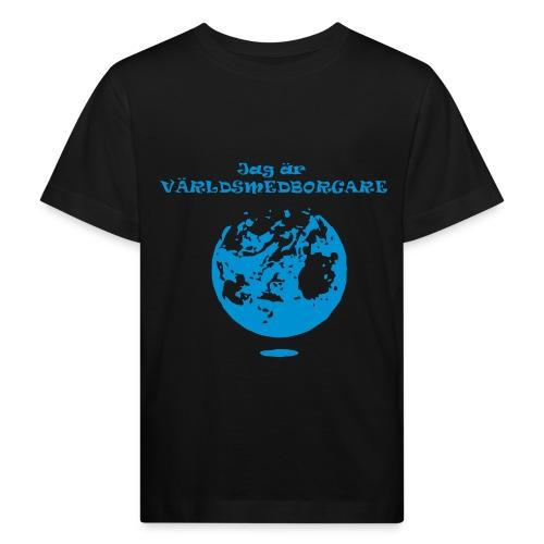 Jag är världmedborgare - Ekologisk T-shirt barn